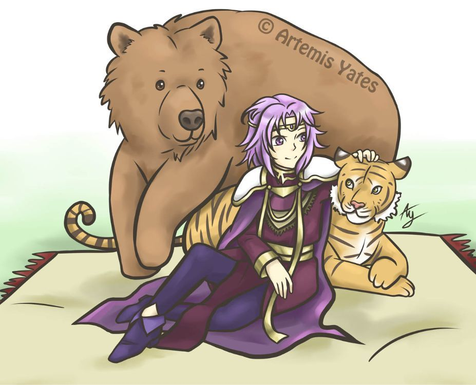 Fire Emblem Lyons and Tigers and Bears