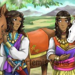 Nakula and Sahadeva