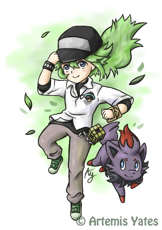 Pokemon N and Zorua