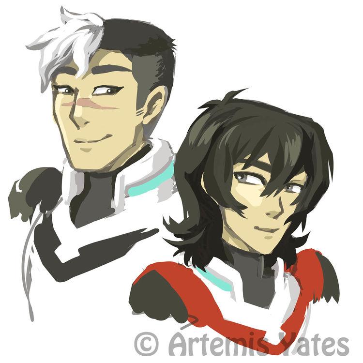 Voltron Shiro and Keith