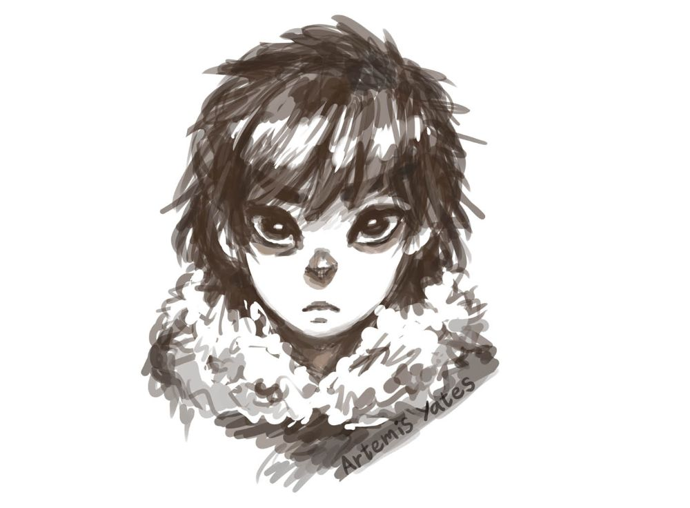 Percy Jackson & the Olympians: Smol Nico di Angelo sketch
