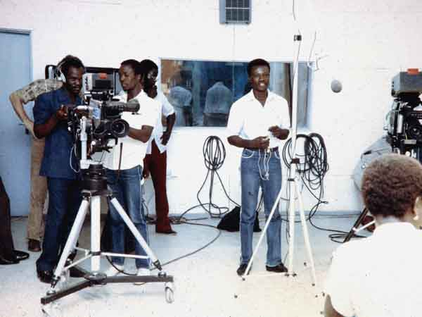 The Studio, My Unit at Jos 1981, NTA College Student Training Session