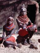 Masai Girls near Masai Mara, Kenya