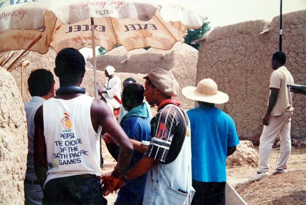 Shooting on location for Life & Times of  Usman Dan Fodio