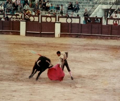 Bull Fighting at the Plaza del Toros, Spaina