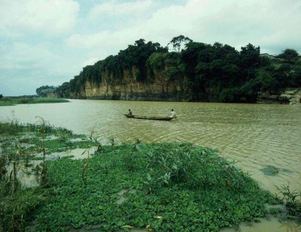 Cliffs at Idah on the River Niger, Nigeria