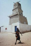 Gobirau Mosque, Katsina City, Northern Nigeria.a unique ancient mosque, with a singular design