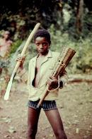 Young Ibo Hunter