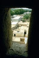View From window, Gobirau Mosque, Katsina