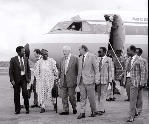 Harold Macmillan Visits Nigeria