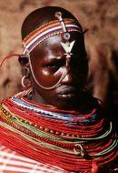 a Masai Maiden