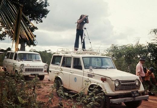 Me filming near Enugu