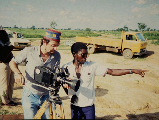 Me filming in Kano, Nigeria