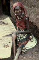 Lady at village near Enugu