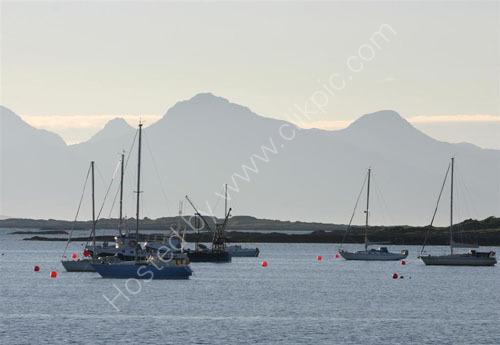 Arisaig summer sailing.