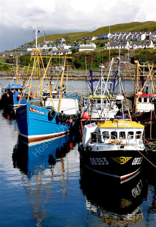 Mallaig fishing boats