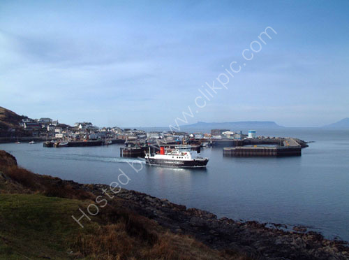 Mallaig ferry leaves for Skye