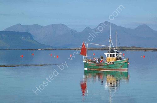 Fishing boat Arisaig