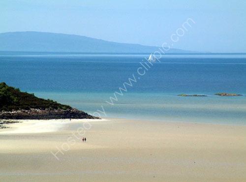 Morar beach to Rum