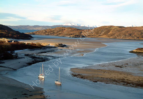 Winter anchorage, Morar.