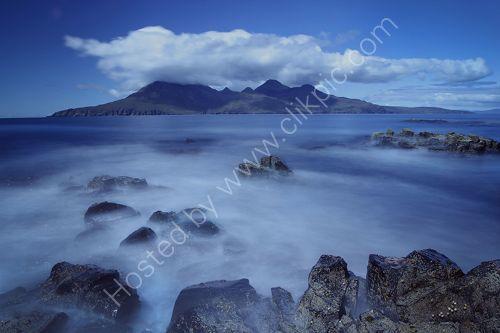 Milky sea towards Rum
