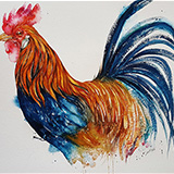 Barney the Rooster