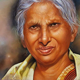 Woman in Lemon Shawl