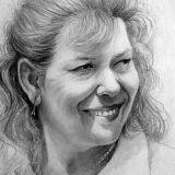 Sketch Style Pencil Portrait
