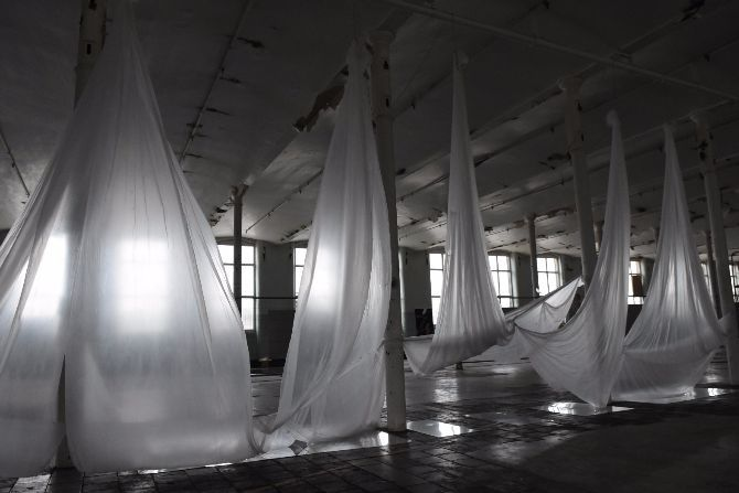 Echoes of Repetition : Trace Imprint, North Light Mill, UK - 2015