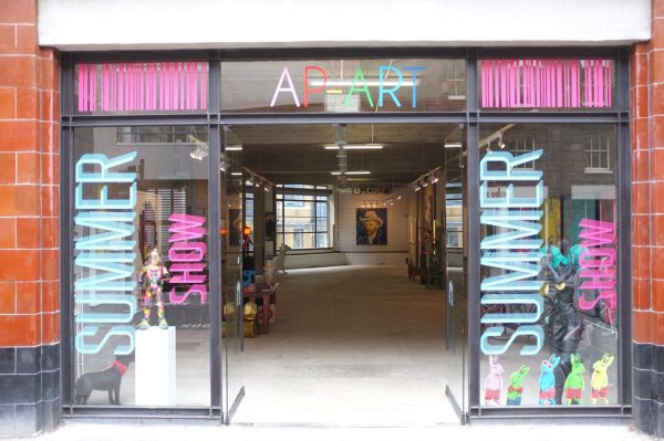 APART SUMMER SHOW 2014 - 132 COMMERCIAL STREET- LONDON E1 - JUNE 25TH - AUGUST 24TH