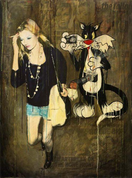 """IL PAPARAZZO"" - STEPHANIE HOPPEN GALLERY - LONDON - DEC 2009"