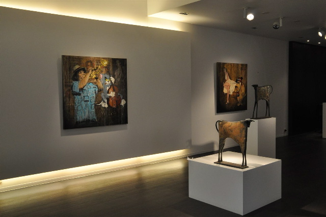 Absolute Art Gallery, Kustlaan 285 B-8300, Knokke, Belgium, October 2011 - January 2012