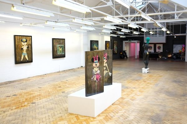 JAMES HOLDSWORTH SOLO SHOW - 24 MAY 2013 - 23 July 2013 - APART GALLERY - THE OLD SORTING OFFICE - 222-224 WESTBOURNE GROVE - W11