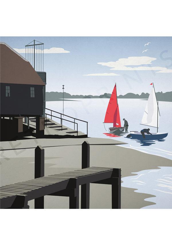 Sailing at Bosham