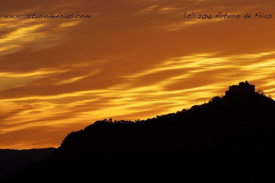 Fiery Sunset 1