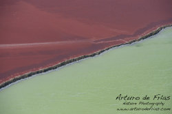 Salt Pans Abstract