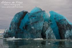 Cobalt Blue Iceberg