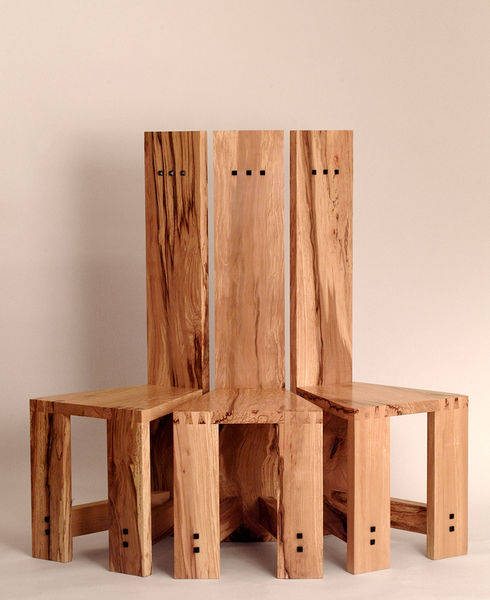 Spalted Beech Chairs