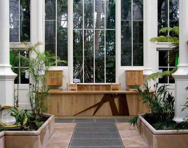 Royal Botanic Gardens Reception Desk