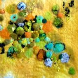 Felted Tansy