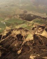 Orkney arial landscape