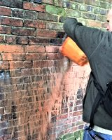 Engaging with wall