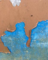 Blue paint beneath, Kinver Street