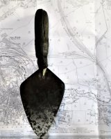 Trowel and 1902 location map