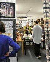 Private view - Conversations with an old wall exhibition