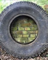 Found tyre