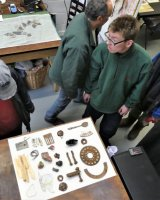 Sorting and choosing found objects