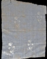 Muslin from wreck of the Svecia