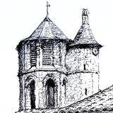 Daumazan church II