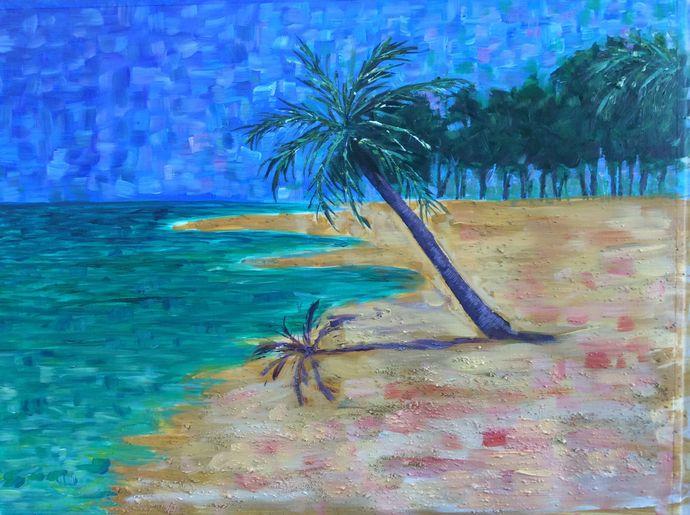 Beach Acrylic Workshop